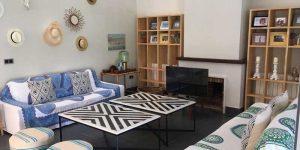 Diseño interior en el hogar en la sala