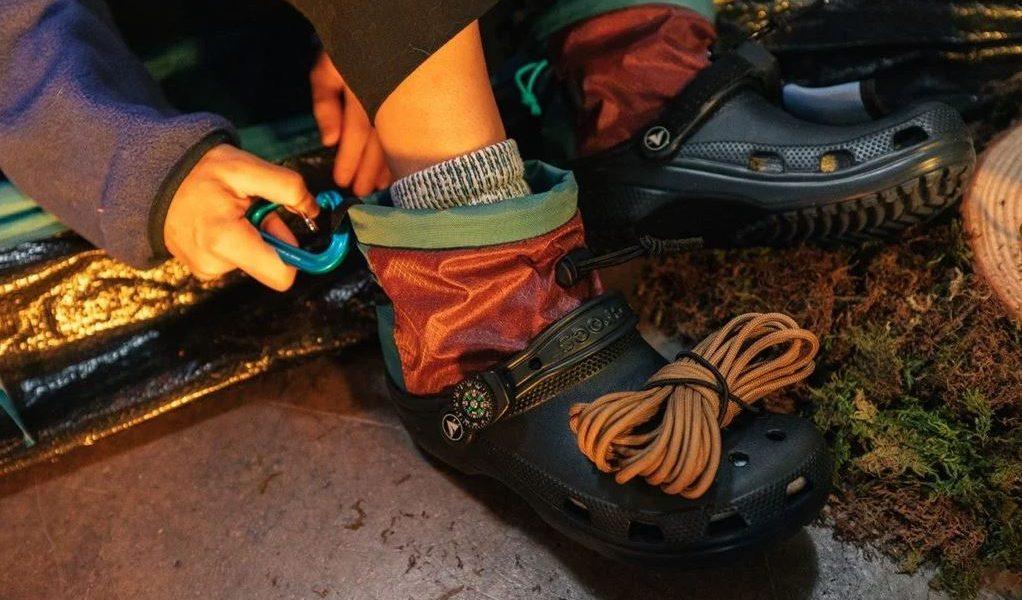 Crocs de alpinismo de Nicole McLaughlin