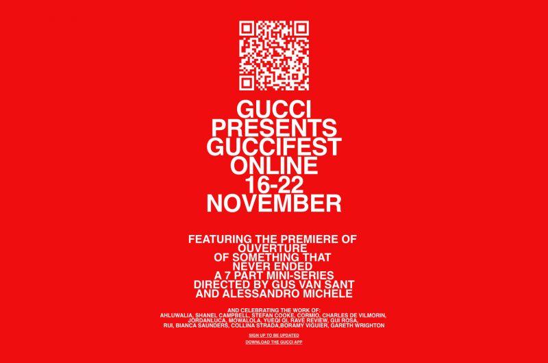 Poster de presentación del GucciFest