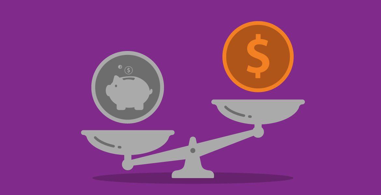 balanza para pagar tu deuda