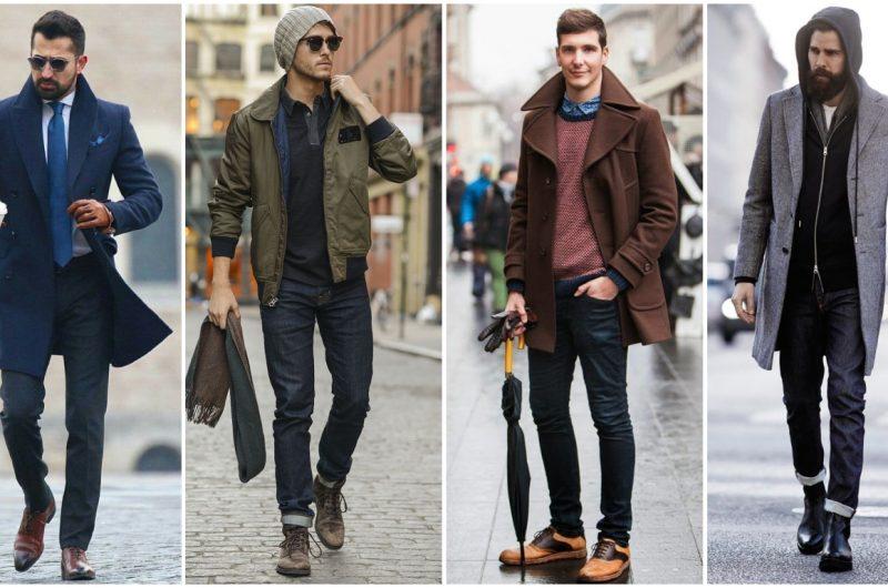 Suéteres de diferentes telas de hombre