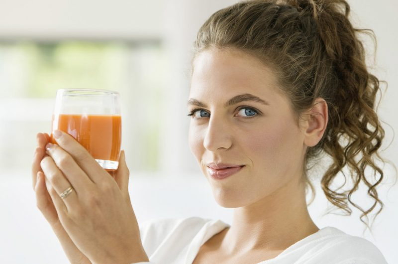 Limpieza con jugos naturales
