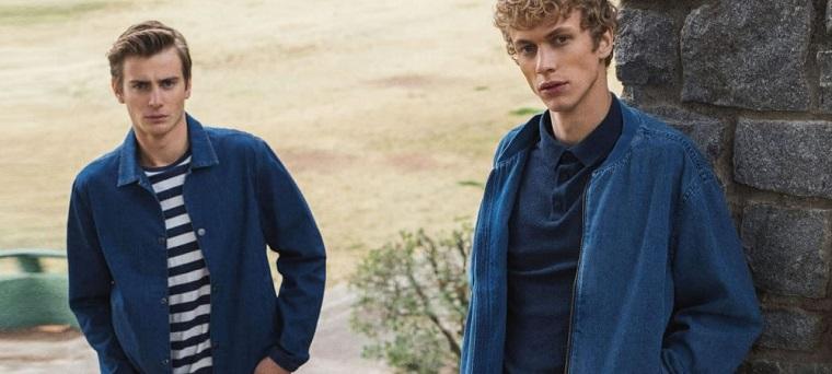 Hombres con ropa de lana.